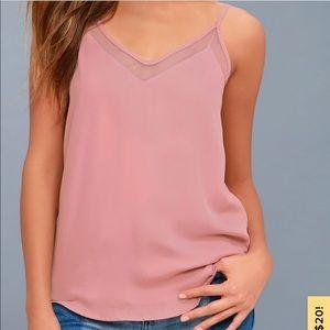 Lulus tank top blouse